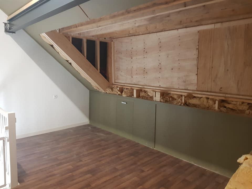 Nieuwe dakkapel op woning
